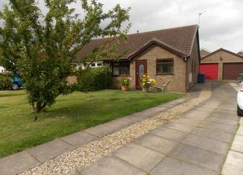 Thumbnail 2 bed semi-detached bungalow for sale in Raithby Avenue, Keelby, Grimsby