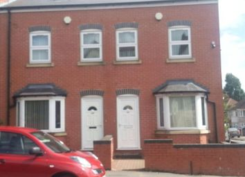 Thumbnail 4 bedroom terraced house to rent in Highfield Road, Birmingham