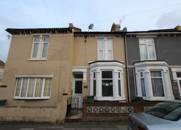 Thumbnail 4 bed terraced house to rent in Haslemere Road, Southsea