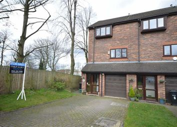 Thumbnail 3 bed town house for sale in Rena Close, Heaton Norris, Stockport, Greater Manchester