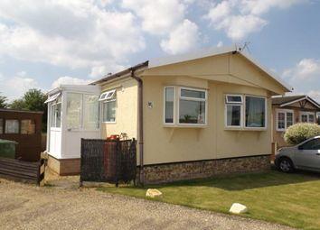 Thumbnail 1 bedroom mobile/park home for sale in Longstanton, Cambridge, Cambridgeshire