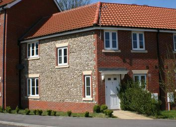 Thumbnail 3 bedroom end terrace house to rent in Evergreen Way, Mildenhall, Bury St. Edmunds