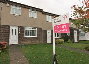 Thumbnail 3 bedroom terraced house to rent in Sheen Court, Kingston Park, Newcastle Upon Tyne