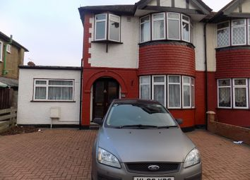 Thumbnail 2 bed flat to rent in Devon Close, Perivale, Greenford