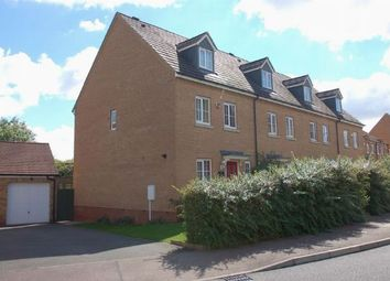 Thumbnail 3 bedroom town house for sale in Howards Way, Moulton Park, Northampton