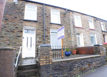 Thumbnail 2 bed terraced house for sale in William Street, Ystrad, Pentre