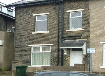 Thumbnail 1 bed flat to rent in Farcliffe Road Flat 3, Bradford 8
