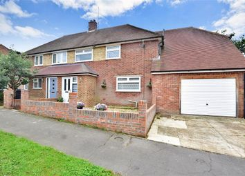 Thumbnail 4 bed semi-detached house for sale in Nursery Hill, Shamley Green, Guildford, Surrey