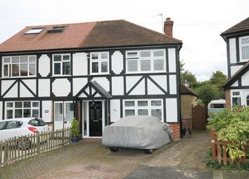 Thumbnail 3 bed semi-detached house for sale in Frederick Road, Cheam, Sutton, Surrey