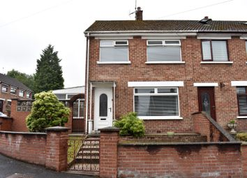Thumbnail 2 bed end terrace house for sale in Brookvale Rise, Lisburn