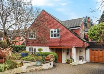 Thumbnail 3 bed detached house for sale in Ruxley Crescent, Claygate, Esher