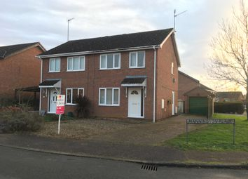 3 bed semi-detached house to rent in Mannington Place, South Wootton, King's Lynn PE30