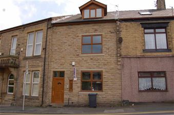 Thumbnail 1 bed flat to rent in First Floor Apartment, Stamford Road, Mossley