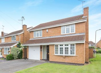 Thumbnail 4 bed detached house for sale in Burnham Drive, Whetstone, Leicester