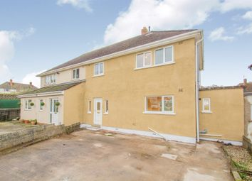 Thumbnail 3 bed semi-detached house for sale in Crundale Crescent, Llanishen, Cardiff