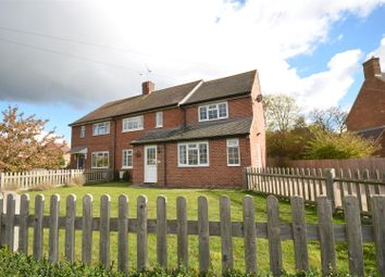 Thumbnail 3 bed semi-detached house for sale in Bernard Close, Cuddington, Aylesbury