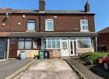 Thumbnail 3 bed terraced house for sale in Lord Street, Walsall