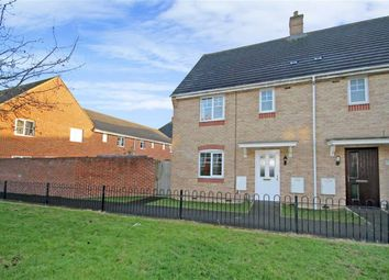 Thumbnail 3 bedroom end terrace house for sale in Endeavour Road, Oakley Park, Wiltshire