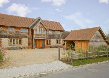 Thumbnail 5 bed detached house to rent in The Street, Plaxtol, Sevenoaks