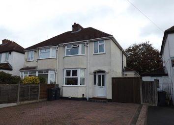 Thumbnail 3 bed semi-detached house for sale in Mackadown Lane, Tile Cross, Birmingham