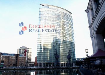 Thumbnail 2 bed flat to rent in West India Quay, Hertsmere Road, Docklands