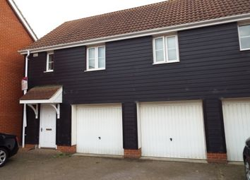 Thumbnail 2 bedroom maisonette to rent in Frenesi Crescent, Bury St. Edmunds