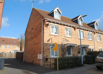 Thumbnail 3 bed end terrace house for sale in Bankside, Higham Ferrers, Rushden
