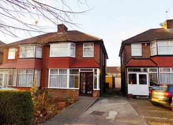 Thumbnail 3 bed semi-detached house for sale in Holyrood Gardens, Edgware, Middlesex