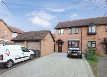Thumbnail 3 bed semi-detached house for sale in Moore Close, Cippenham, Slough
