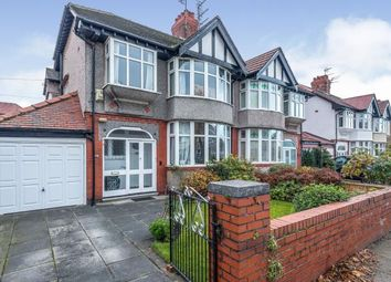 Thumbnail 3 bed semi-detached house for sale in Manor Road, Crosby, Liverpool, Merseyside