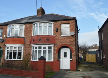 Thumbnail 3 bed semi-detached house for sale in Belmont Avenue, Teesville, Middlesbrough