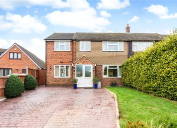Thumbnail 5 bed semi-detached house for sale in Bates Lane, Weston Turville, Aylesbury, Buckinghamshire
