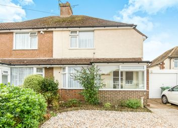 Thumbnail 2 bed semi-detached house for sale in St. James Crescent, Bexhill-On-Sea
