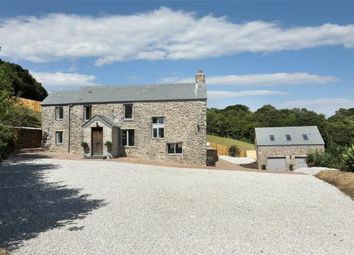Thumbnail 3 bed detached house for sale in Bluebell Lane, Golberdon, Callington, Cornwall
