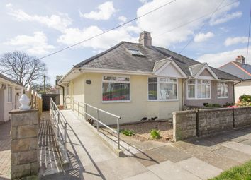 Thumbnail 4 bedroom semi-detached bungalow for sale in Bowden Park Road, Crownhill, Plymouth