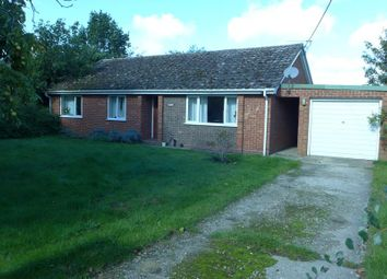 Thumbnail 3 bed detached bungalow to rent in The Street, Herringswell