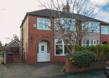 Thumbnail 3 bed semi-detached house for sale in Tabley Grove, Timperley, Altrincham