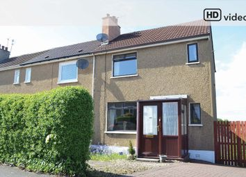 Thumbnail 2 bed end terrace house for sale in Brunton Street, Glasgow