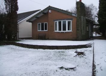 Thumbnail 2 bed detached bungalow to rent in 4 Post Lane, Endon