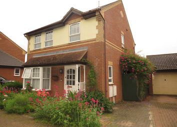 Thumbnail 3 bed detached house for sale in Hareden Croft, Emerson Valley, Milton Keynes