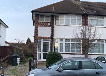 Thumbnail 3 bedroom end terrace house to rent in Elmore Road, Luton