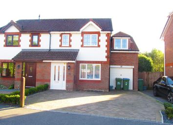 Thumbnail 4 bed semi-detached house for sale in Rothschild Close, Southampton