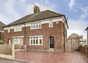 Thumbnail 3 bed semi-detached house for sale in Long Hill Rise, Hucknall, Nottinghamshire