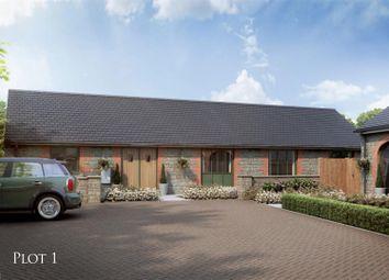 Thumbnail 3 bed barn conversion for sale in Plot One, Stableyard Close, Barleythorpe, Oakham