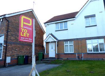 Thumbnail 2 bed semi-detached house for sale in Crosthwaite Grove, Sunderland
