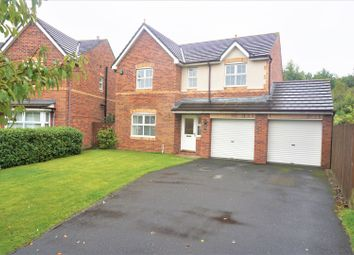 Thumbnail 4 bed detached house for sale in Greenwood Close, Washington