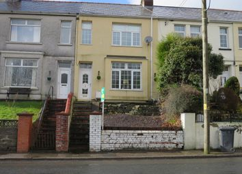 Thumbnail 3 bed terraced house for sale in Glen View, Hollybush, Blackwood