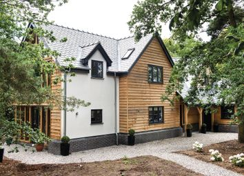 Thumbnail 4 bed detached house for sale in Holmes Chapel Road, Davenport, Congleton