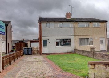 Thumbnail 3 bed semi-detached house for sale in Kirkland Road, Heathhall, Dumfries
