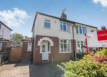 Thumbnail 3 bed semi-detached house for sale in The Crescent, Bredbury, Stockport, Greater Manchester